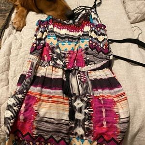 Target Colorful Bohemian Style Romper